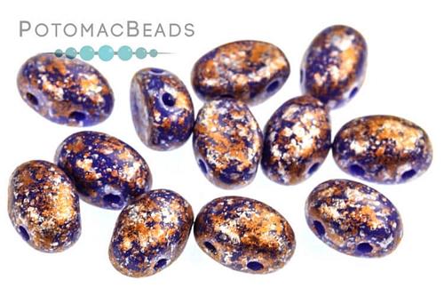 Amos Par Puca Opaque Sapphire Tweedy