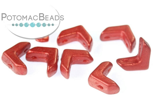 EVA Beads - Lava Red - 6x9mm - Pack of 100 - Bag - Pack of 100