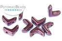 EVA Beads - Pastel Bordeaux - 6x9mm - Pack of 20 - Bag - Pack of 20