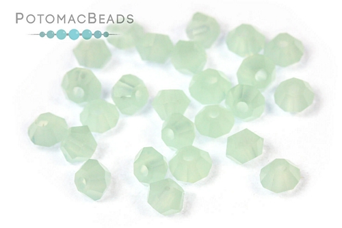 Potomac Crystal Bicones Pacific Opal 3mm