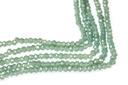 PC Rondelles Seafoam Green 1.5x2mm