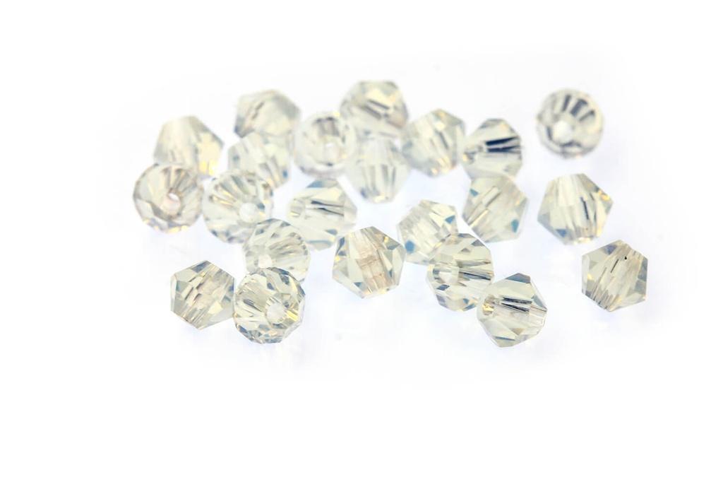 Potomac Crystal Bicones Opal AB 3mm
