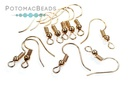 Coiled Earwires Rose Gold (Pack of 100)