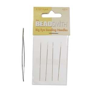 """Bead Smith Big Eye Needles 5"""""""