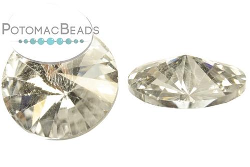 Potomac Crystal Rivoli - Crystal Silver Backed 1 - 18mm - Bag - Pack of 10