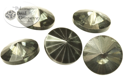 Potomac Crystal Rivoli - Earthtone Metallic Ice - 10mm - Bag - Pack of 25