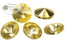 Potomac Crystal Rivoli - Apricot Metallic Ice - 10mm - Bag - Pack of 25