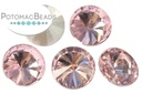Potomac Crystal Rivoli Lt Rose 10mm Pack of 5