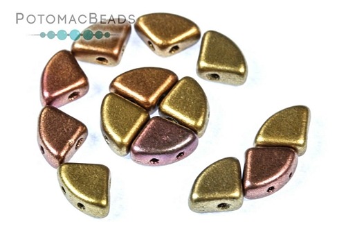 PieDuo Beads - Ancient Gold