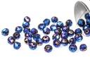 Potomac Crystal Rondelle Beads - Metallic Blue Iris - 2x3mm - Bag - Pack of 150
