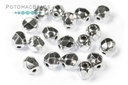 Czech Faceted Round Crystal Labra