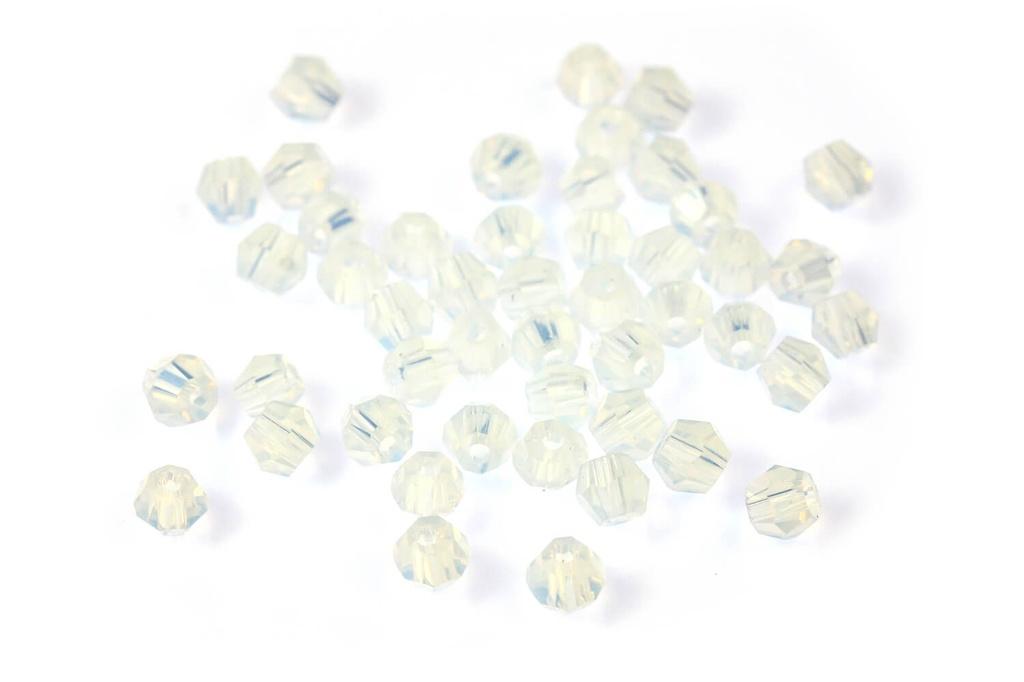 Potomac Crystal Bicones Opal AB 2mm