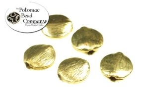 Brass Brushed Coin