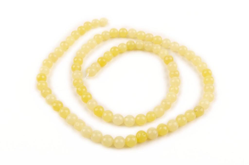 Serpentine Jade Round 4mm