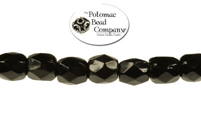 Czech Faceted Round Jet 3mm