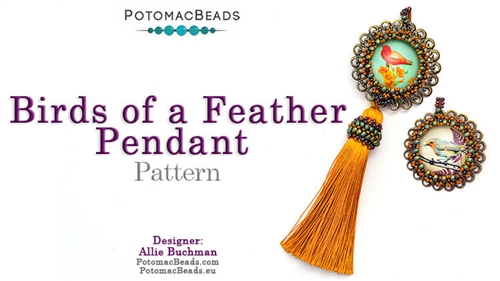 Birds of a Feather Pendant Pattern