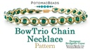 BowTrio Chain Necklace Pattern