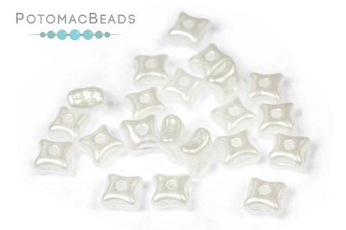 Orion Beads - Pastel White