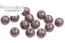 RounDuo Beads - Opaque Lila Teracotta Copper (closeout) - 5mm - Half Mass (600 Beads) - Pack of 600