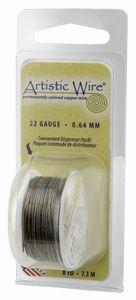Artistic Wire 24g Gun Metal
