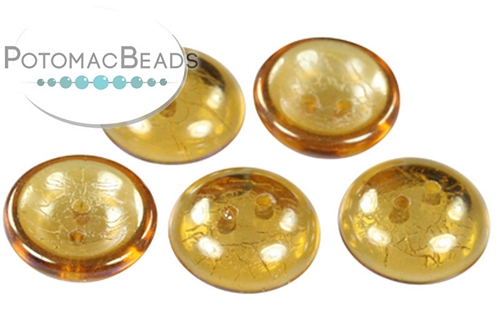 Cup Button Topaz Argent Flare (30 pack)