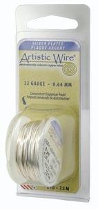 Artistic Wire 28g Non-Tarn Silv