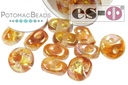 Es-o Bead Crystal Orange Rainbow