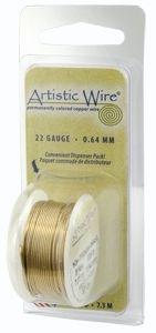 Artistic Wire 28g Non-Tarn Bras