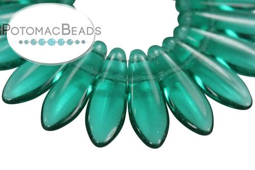 2-Hole Dagger Emerald