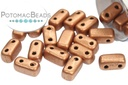 2-Hole Brick Metallic Copper (Matte)
