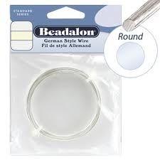 Beadalon German Wire 24g Silver