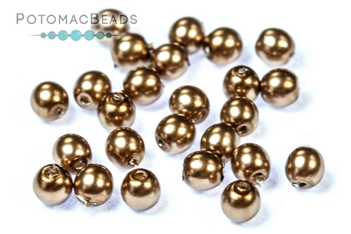 Czech Pearls Sand Shiny