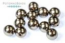 Czech Pearls Latte Shiny