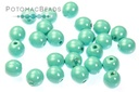 Czech Pearls - Turquoise Blue 3mm