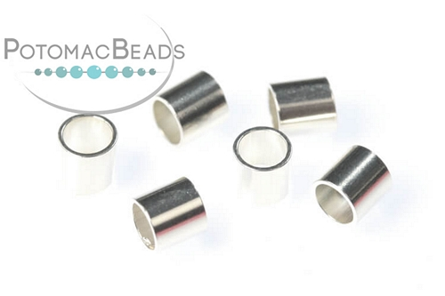 Sterling Silver Crimp Beads 3x3mm