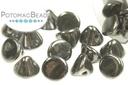 Button Bead Jet Hematite
