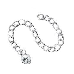 Silver Plated Chain Extention