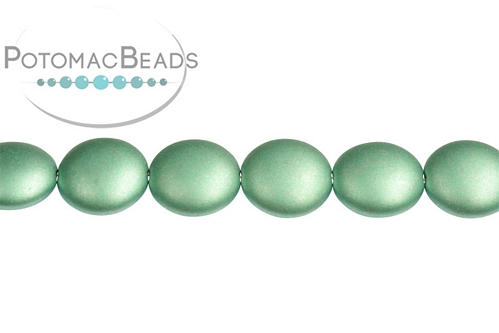 Cushion Bead Metallic Teal