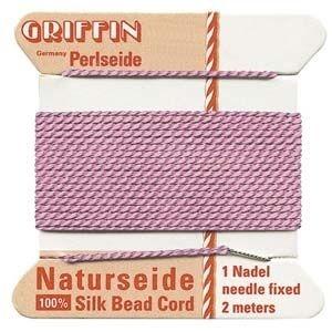 Silk Cord w/ Needle Size 10 Dark Pin