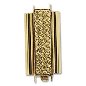 Beadslide CH Gold 10x24mm