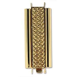 Beadslide CH Gold 10x29mm