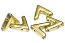 AVA Bead Crystal Amber Full (Pack of 20)