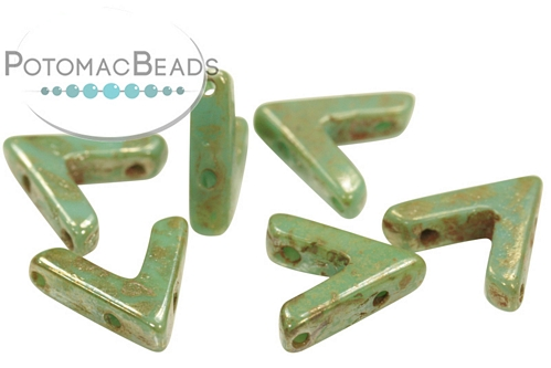 AVA Beads - Jade Picasso - 10x4mm - Pack of 20 - Pack of 20 - Pack of 20