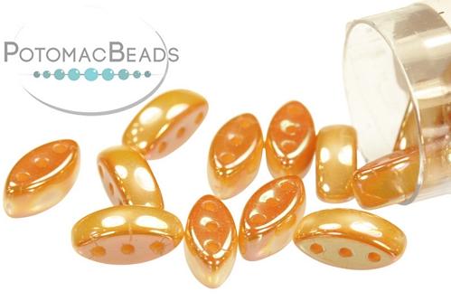 Cali Bead White Medium Apricot