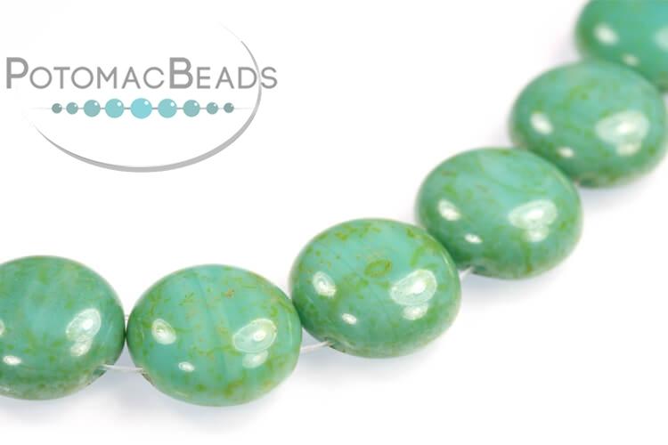 Candy Beads - Jade Travertine 12mm