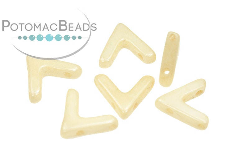 AVA Beads - White Champagne Luster