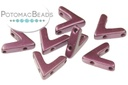AVA Beads - Pastel Bordeaux (Factory Pack of 100)