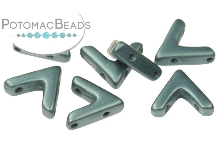 AVA Beads - Pastel Petrol (Factory Pack of 100)