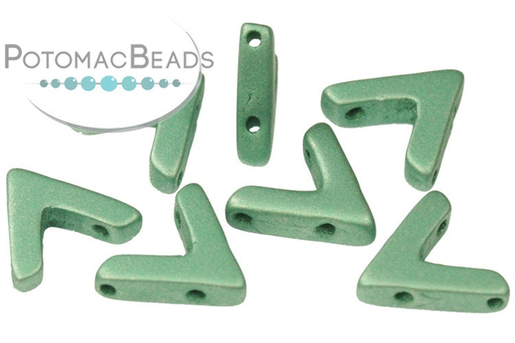 AVA Beads - Metallic Emerald (Factory Pack of 100)