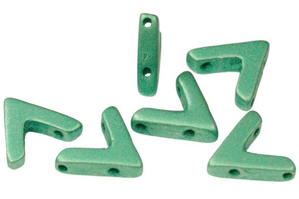 AVA Beads - Metallic Emerald (Factory Pack of 100)